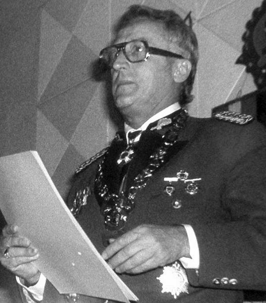 Bruno Kistler 1976 Patronatstag