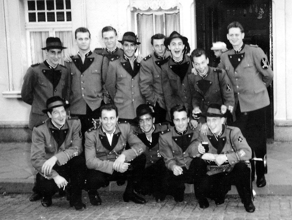 Fanfarenzug 1959
