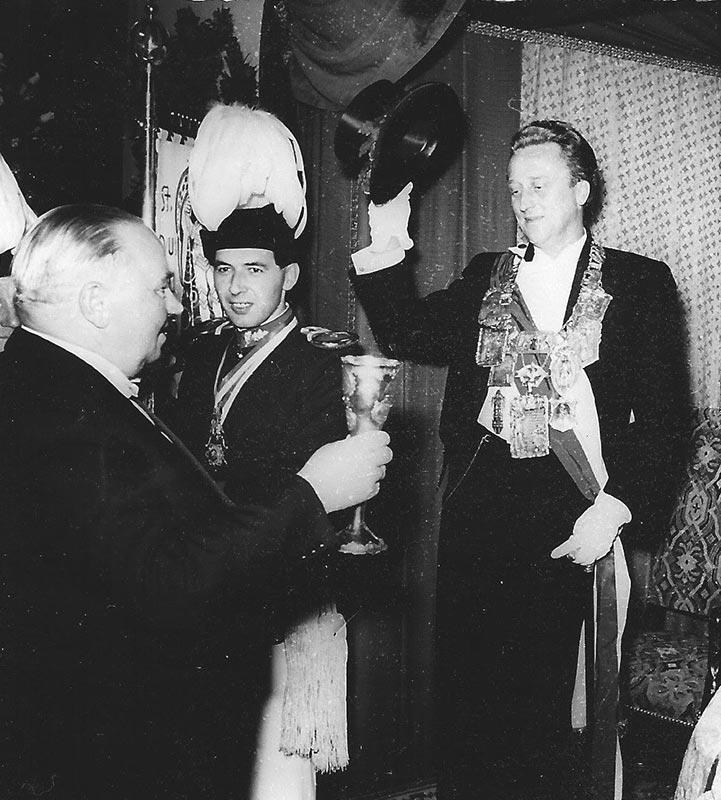 Schützenkönig der Stadt Neuss 1957-58 Bruno Kistler