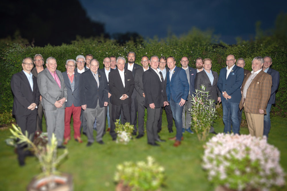 Treffen der ehemaligen Hubertuskönige