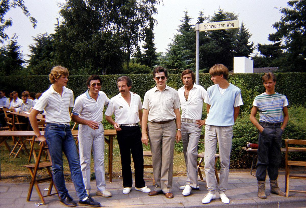 Hubertuscorps Biwak 1983 Hubertuskönig Fred Hasselbach