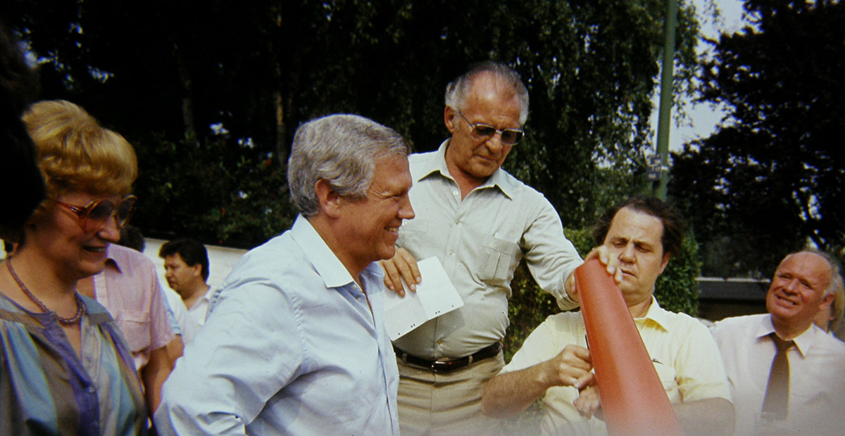 Hubertuscorps Biwak 1983 Rainer Reuss