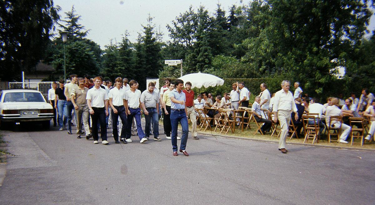 Hubertuscorps Biwak 1983 Peter Schiefer