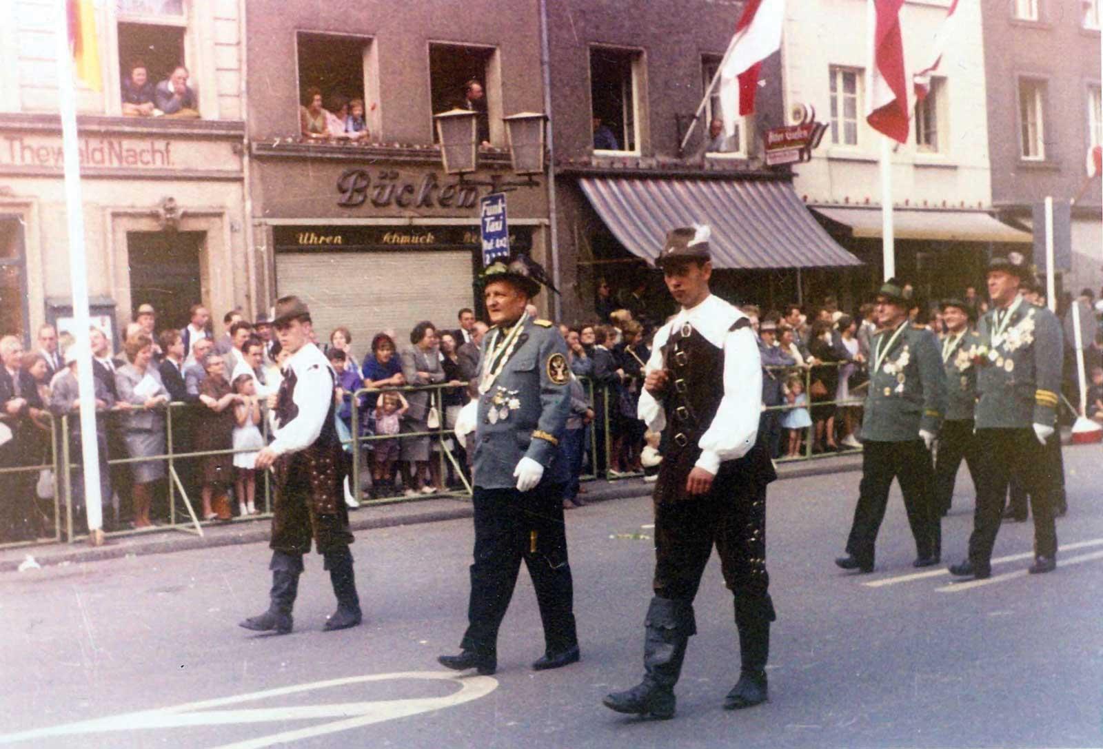 Bogenschützen 1962