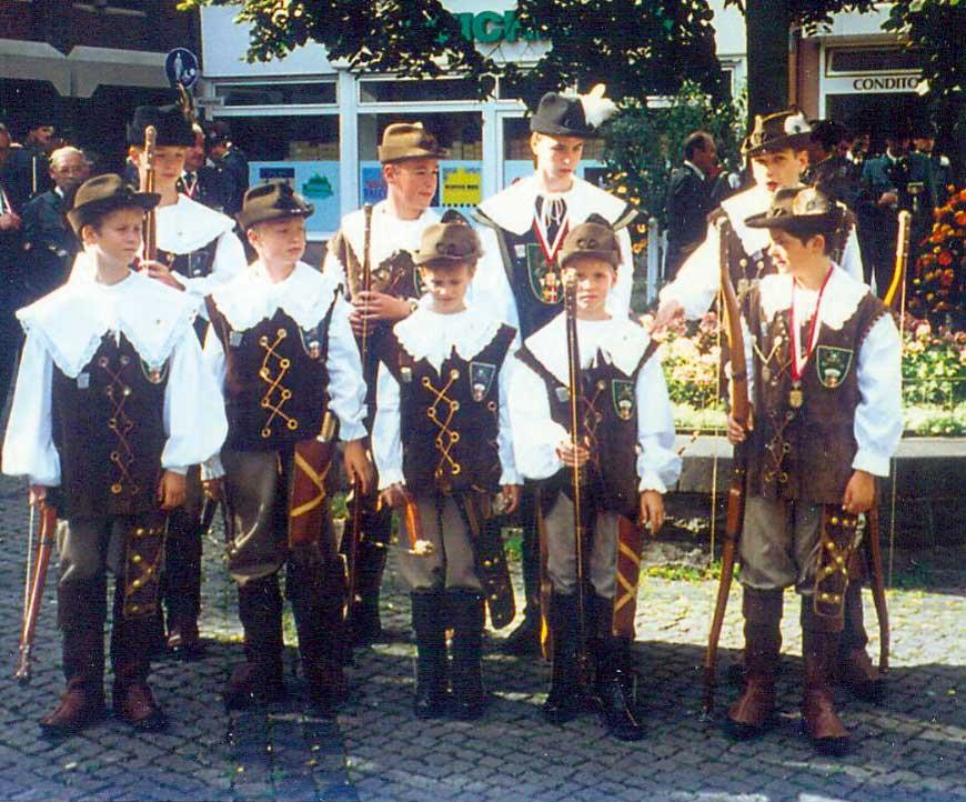 Bogenschützen 1996