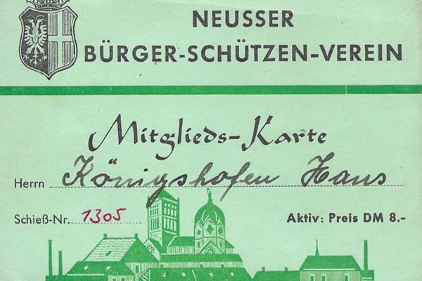 Das Bildarchiv Hans Königshofen