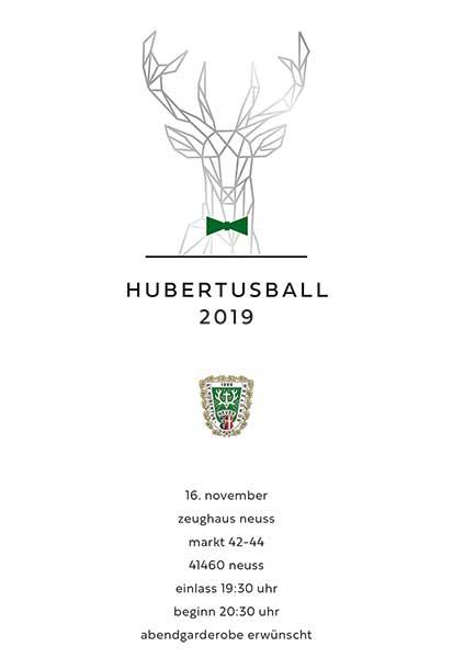 Hubertusball 2019