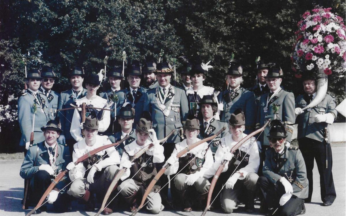 Treffen der ehemaligen Bogenschützen und Jagdgehilfen