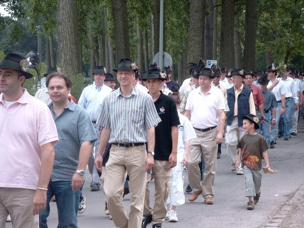 Probemarschieren 2004