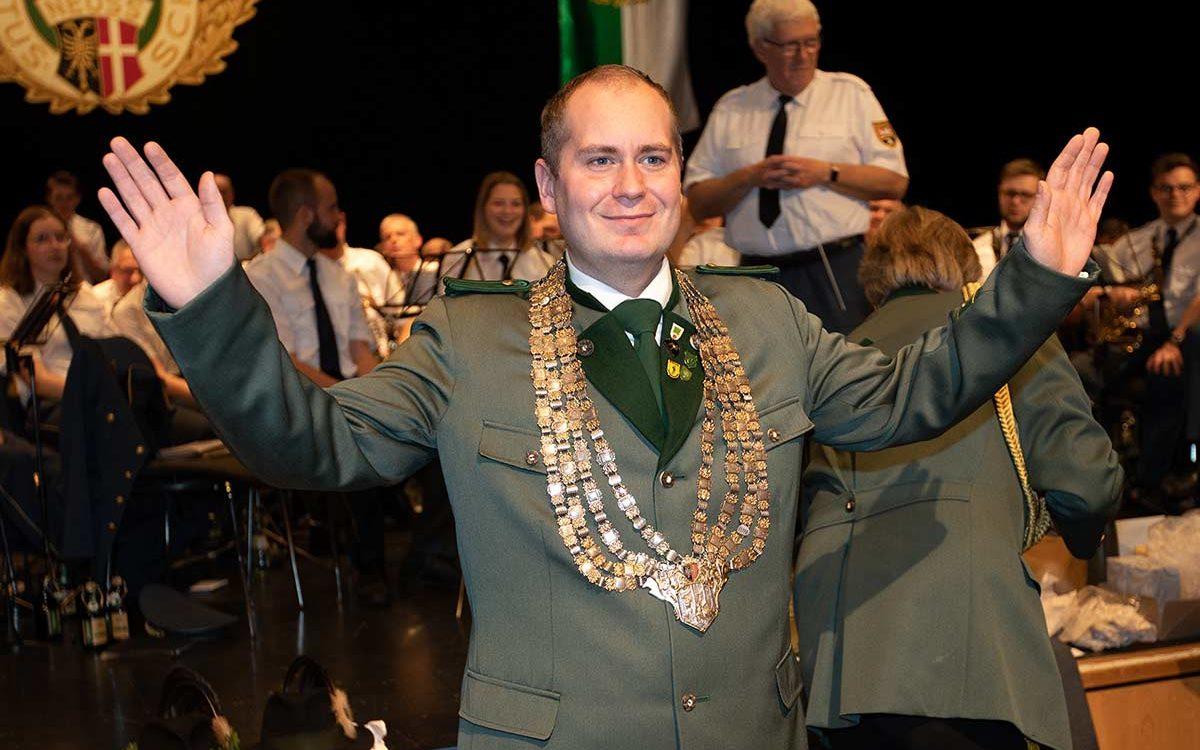 Frederik Reymann ist neuer Hubertuskönig 2019/20