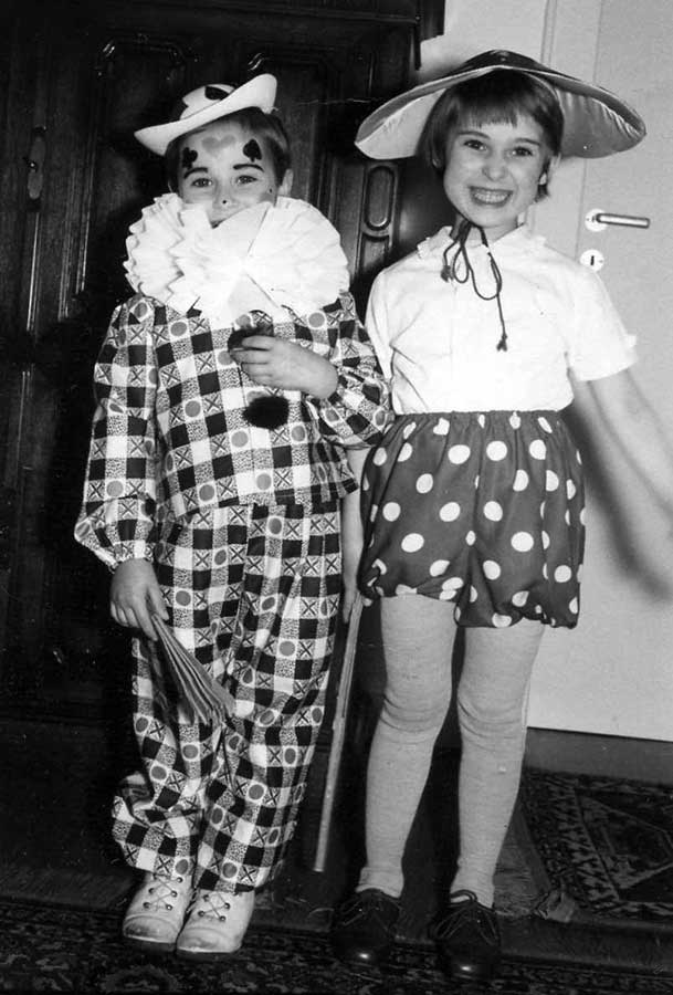Kurt mit Schwester Annelie