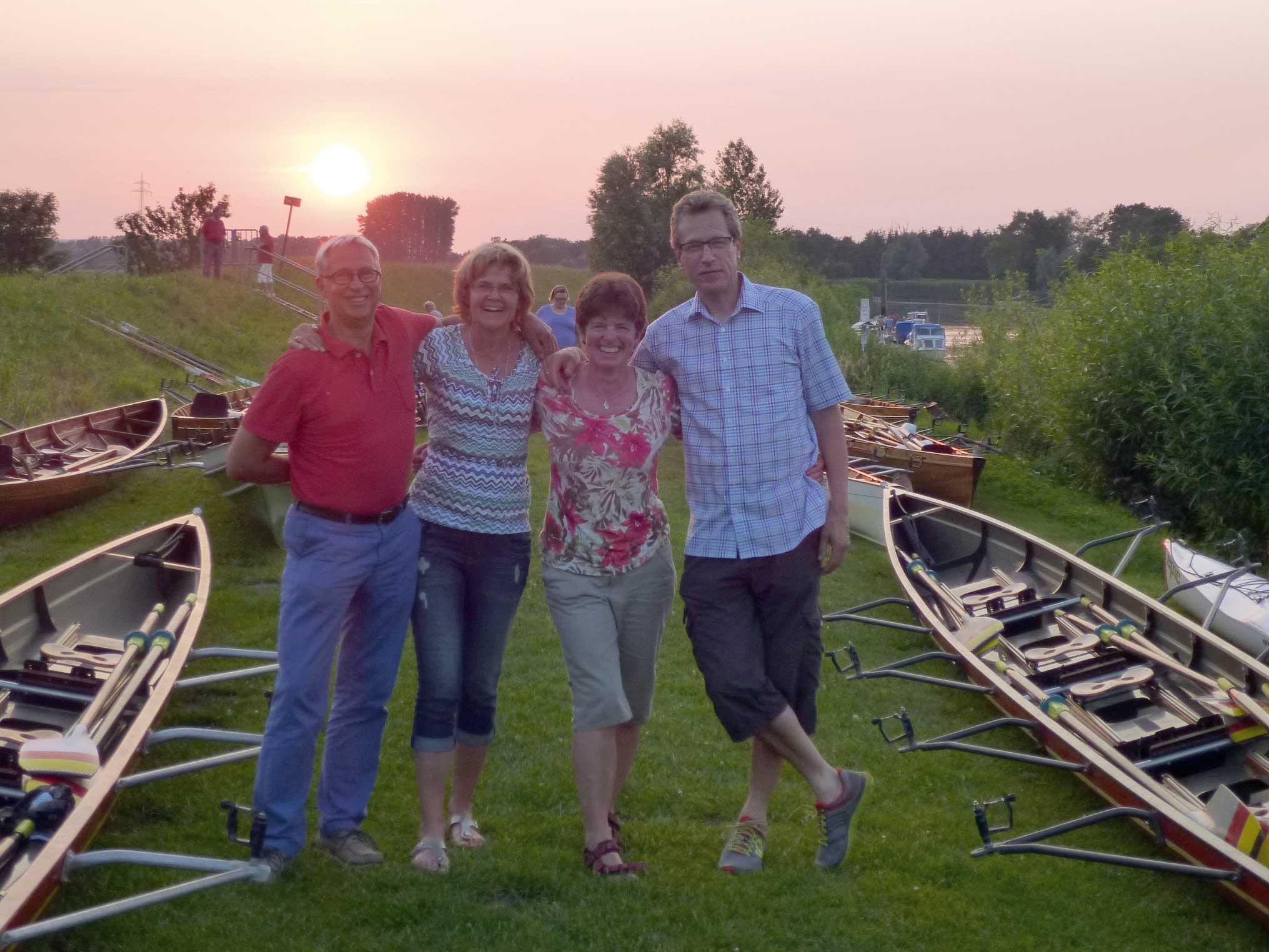 Oste: Beate & Kurt Koenemann, Dr. Stephanie und Wilhelm Straaten