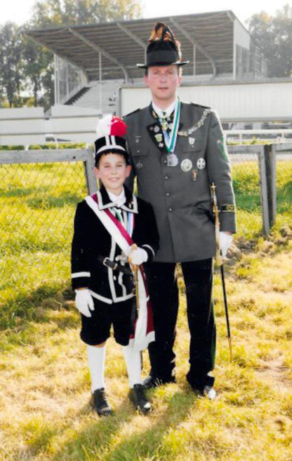 2005 Peter Schiefer mit Sohn Dominik