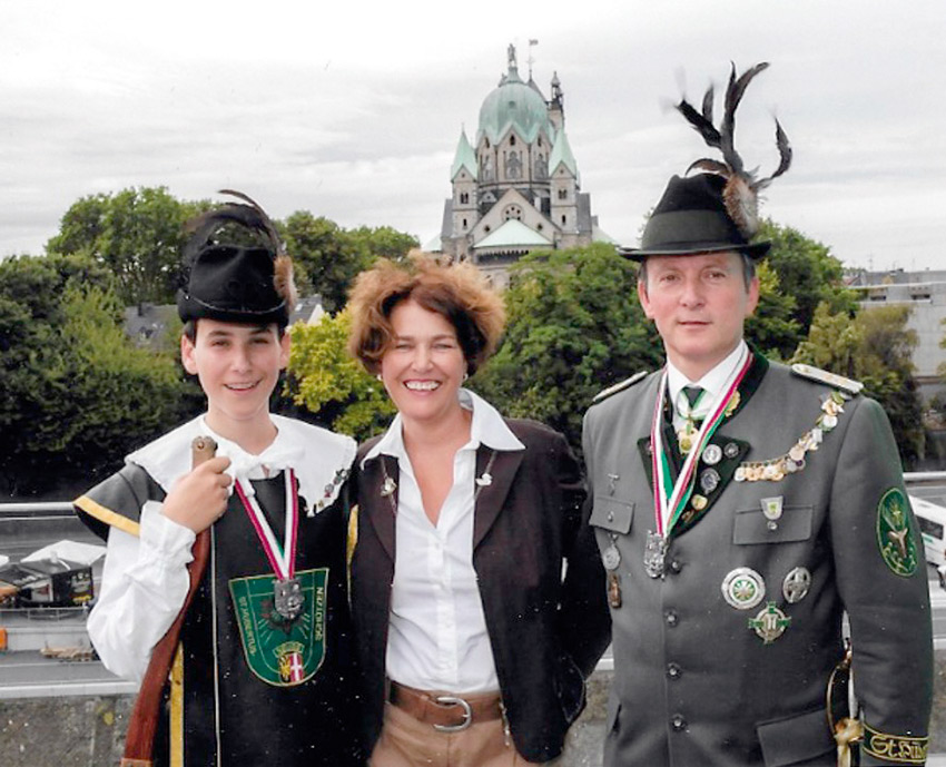 Familie Schiefer - Peter, Bettina und Dominik