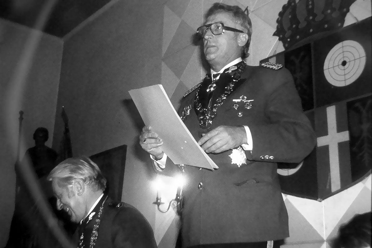 Zum 100.Geburtstag unseres unvergessenen Ehrenmajors Bruno Kistler