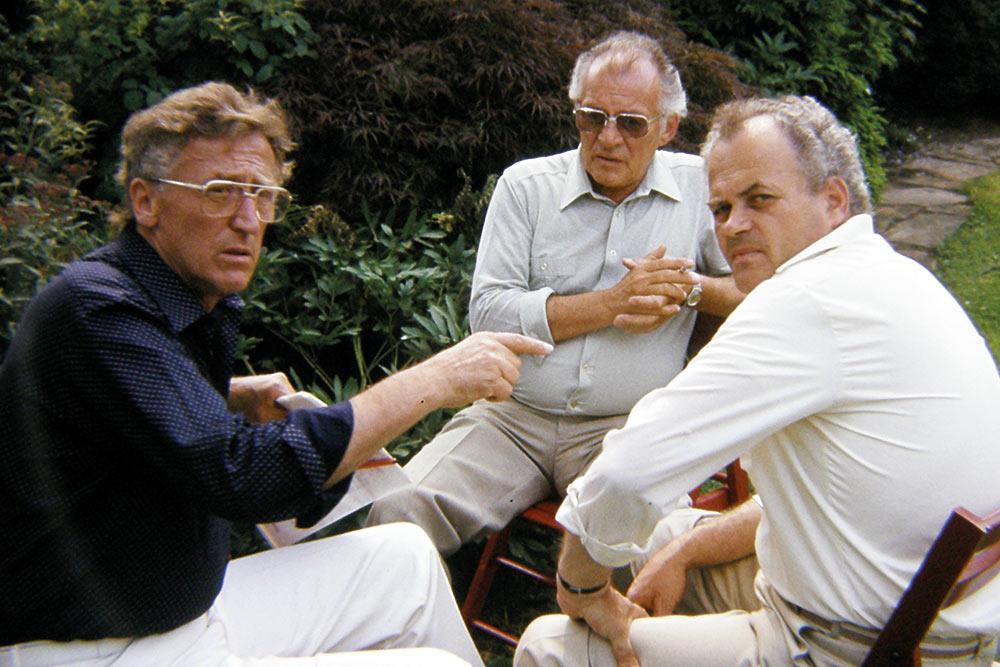 Biwak 1983, Bruno Kistler, Alex Wismann, Herbert Keller