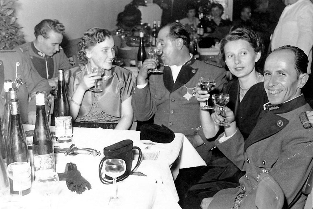 1953 Hubertussball Patronatstag Bürgergesellschaft
