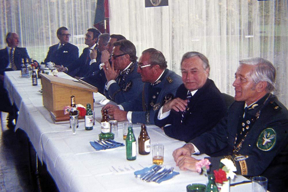 1976 Patronatstag Festkommers in der Stadthalle