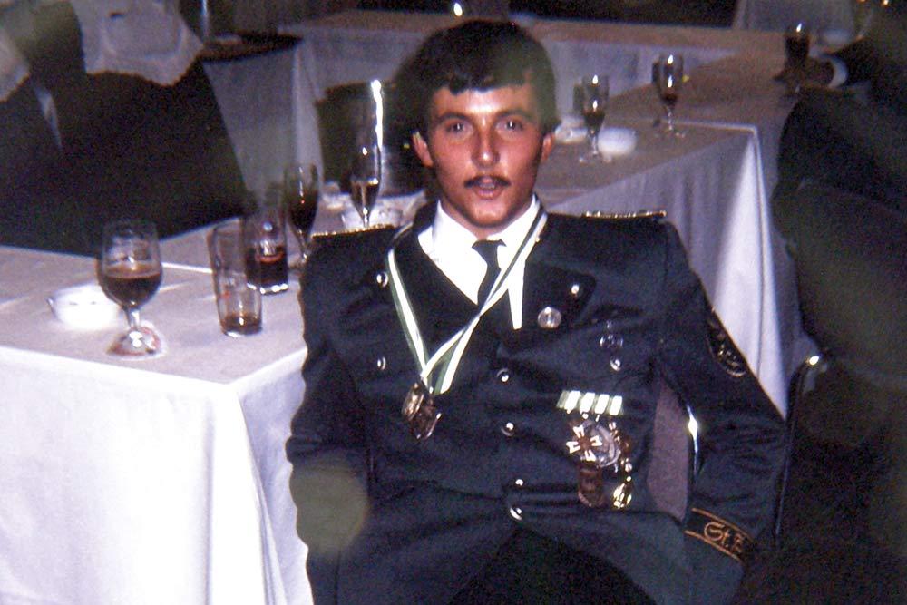 1983 Hubertusball Peter Schiefer