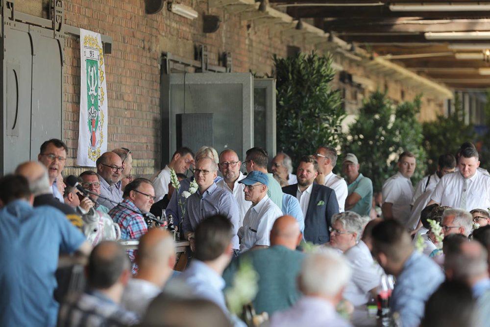 Lang ersehnte Chargiertenversammlung stärkte den Zusammenhalt des Hubertuskorps