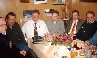 2004 Redaktionssitzung Vorstand Versand Layout