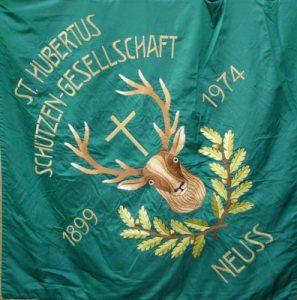 Amann-Schlösser Fahne 1974 Vereinsseite