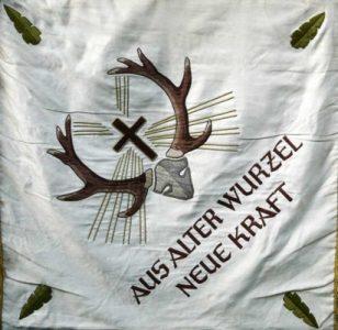 Franken-Fahne,1970 Stadtseite