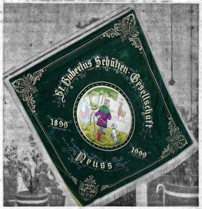 Fahne von 1901 Kesselschmied Surlemont (Replik)