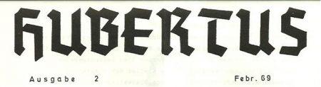 Hubertus Titel 1969