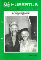 Hubertus Titelblatt 1985
