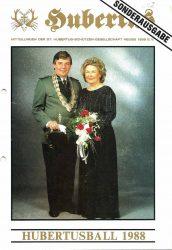 Hubertus Titelblatt 1988
